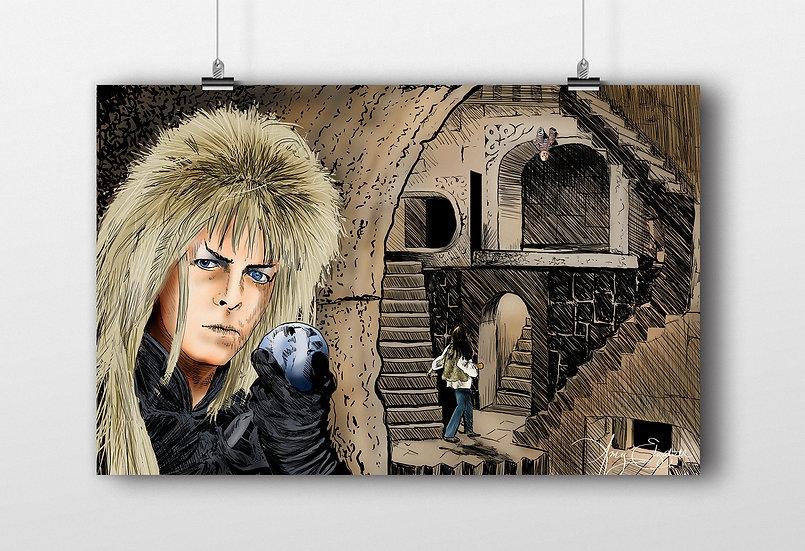 Labyrinth 11x17 Print
