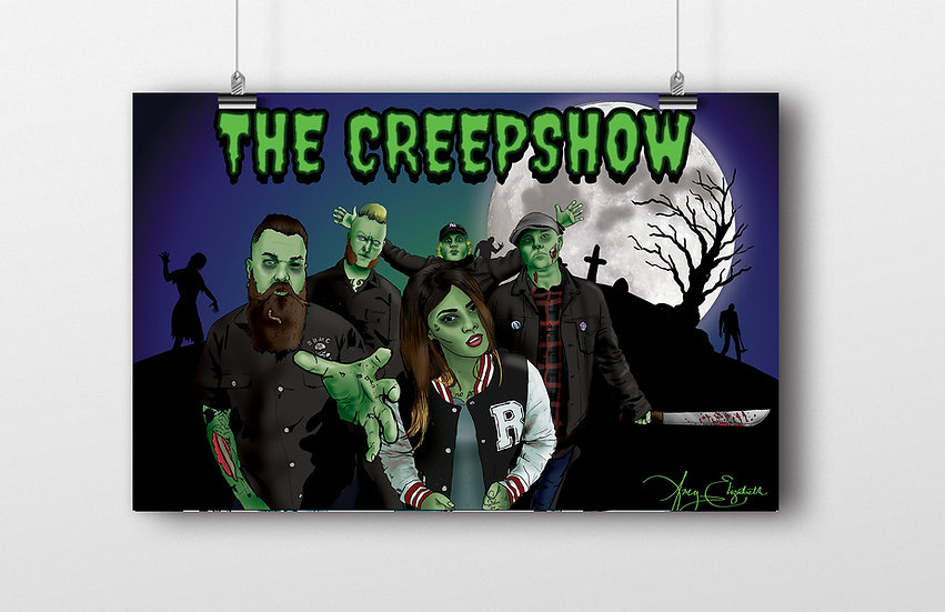 The Creepshow 11x17 Print