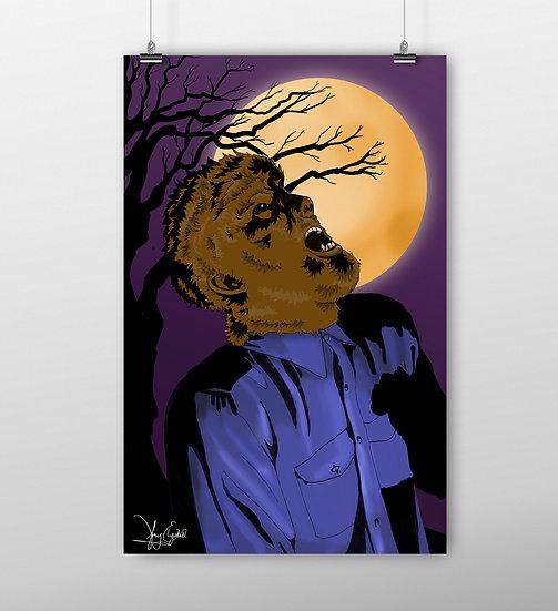 Wolf Man 11x17 Print