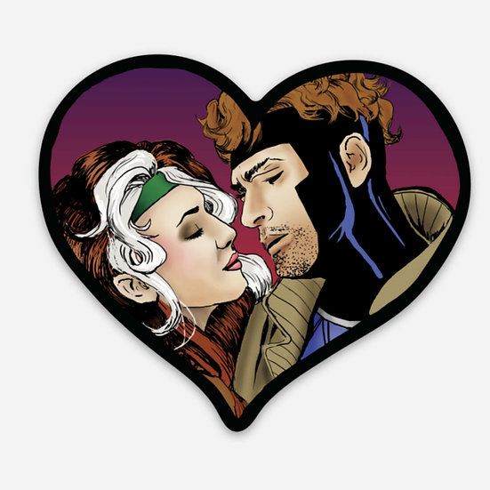 Rogue and Gambit Sticker