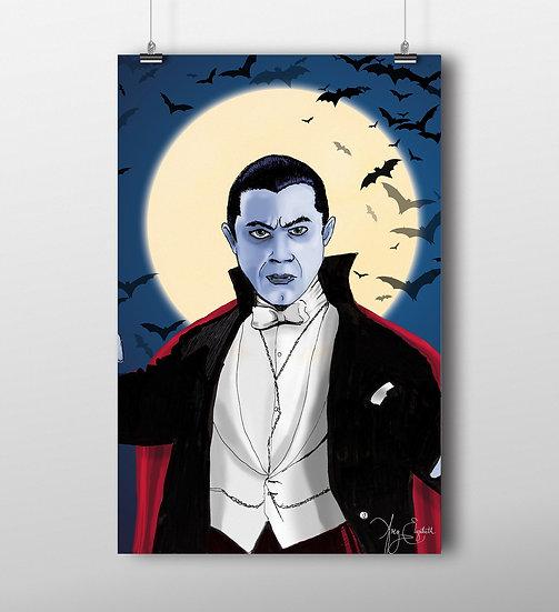 Dracula 11x17 Print