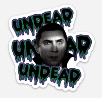 Bela's Undead Sticker