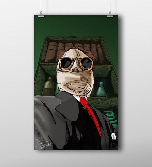 Invisible Man 11x17 Print