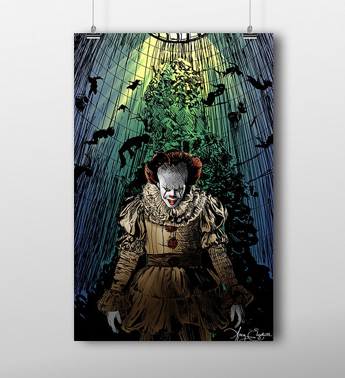 Pennywise 11x17 Print