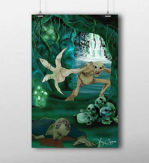 Wendigo 11x17 Print