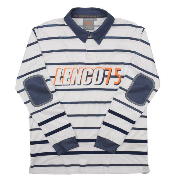 75 - HERITAGE RUGBY POLO, RECYCLED FABRICS