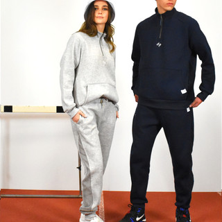 75 - CORD PANELLED TRIPLE STITCHED TRACKSUIT