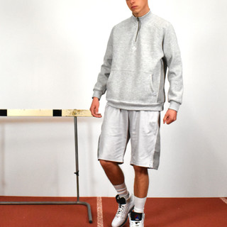 75 - CORD PANELLED TRIPLE STITCHED 1/4 ZIP