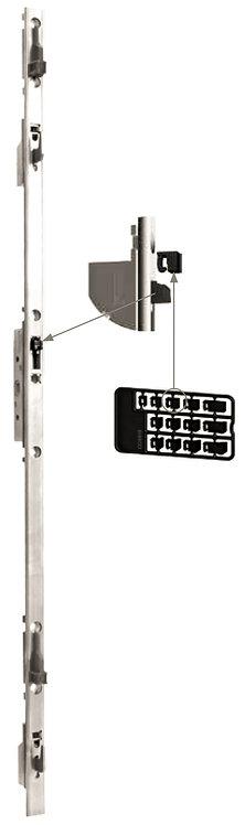 Multipunto con Llave y Gancho Regulable para Puerta – Ventana Corrediza 1.6M