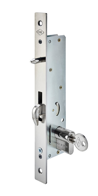 Cerradura con Palanca Gancho para Puerta Corrediza Entrada 35 mm