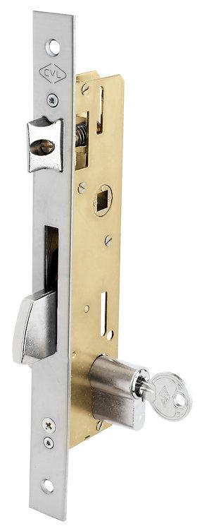 Cerradura con Palanca Basculante entre Ejes 85mm para Puerta Batiente Entra