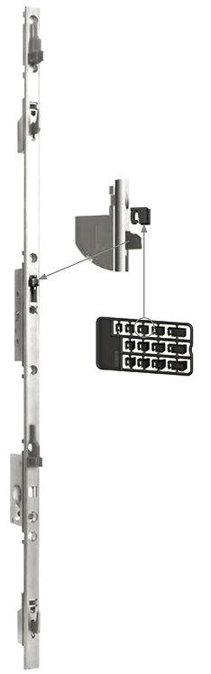 Multipunto Gancho Regulable para Puerta – Ventana Corrediza 1.0 mt