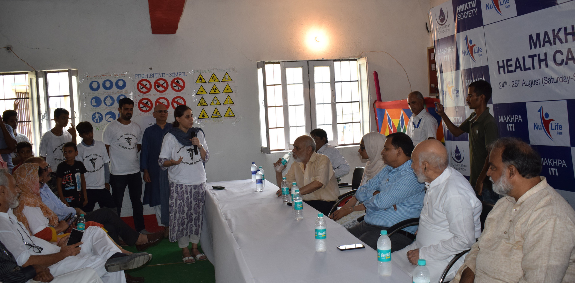 We invited prominent and powerful people from surrounding areas. We used this opportunity to discuss ways that we could better the quality of life for these villagers who are living in harsh poverty.