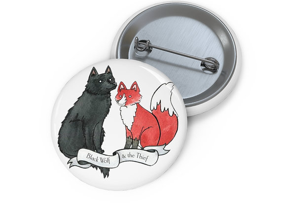 Black Wolf & the Thief Buttons