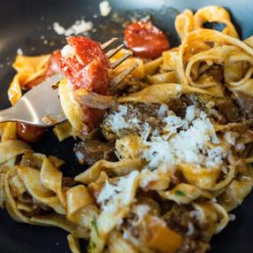 Osso Bucco tossed through pasta