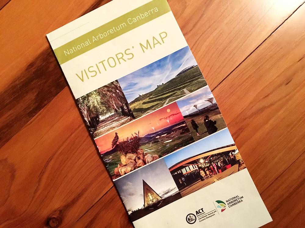 Visitor map National Arboretum
