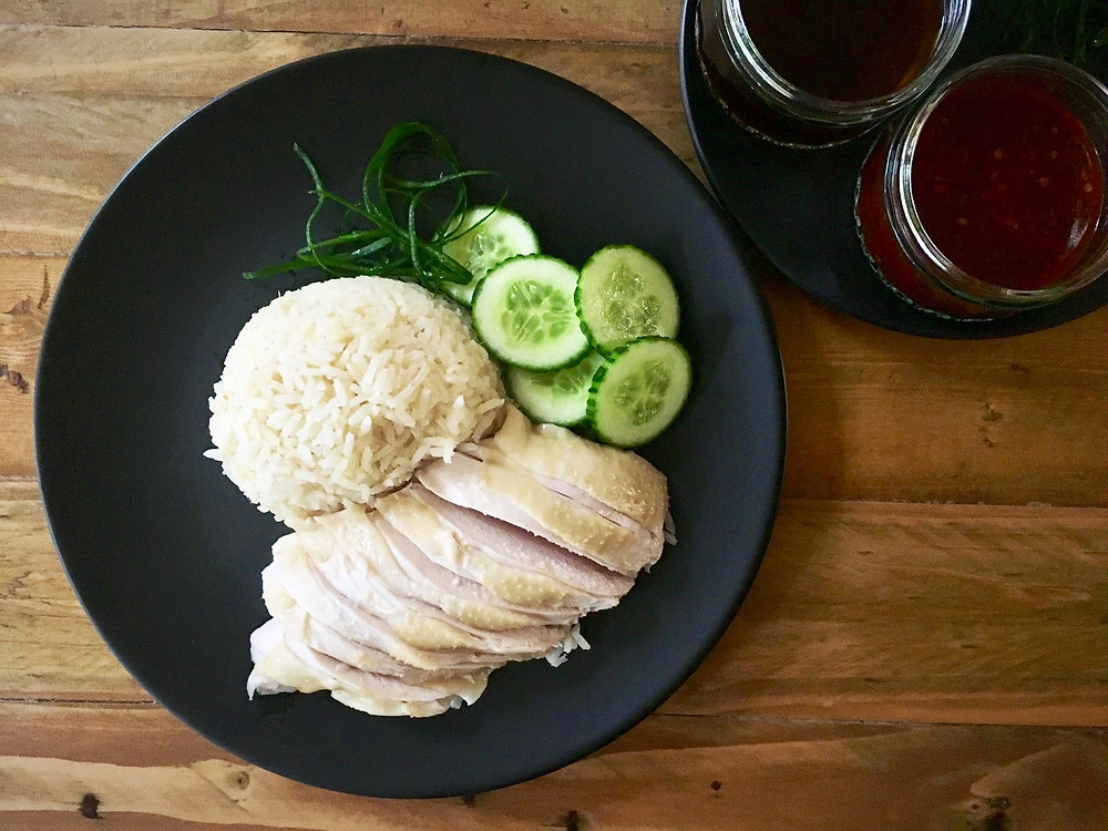 Hainenese Chicken and Rice