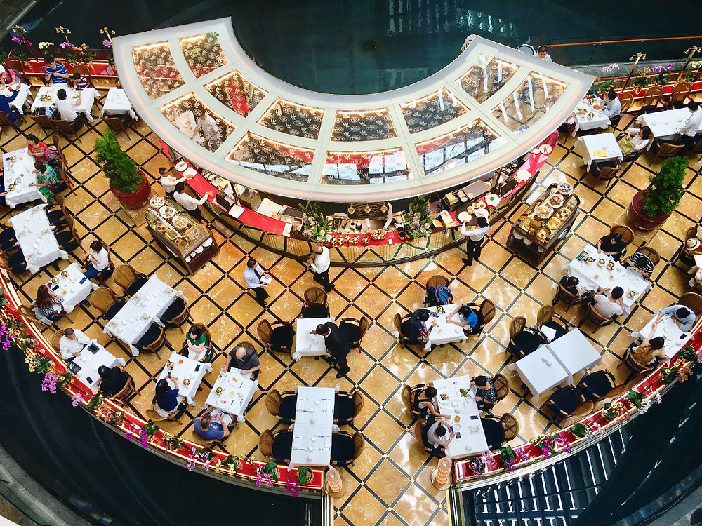 TWG Tea Room - Marina Bay Sands