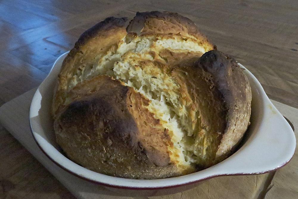 Irish Soda Bread with Caraway seeds