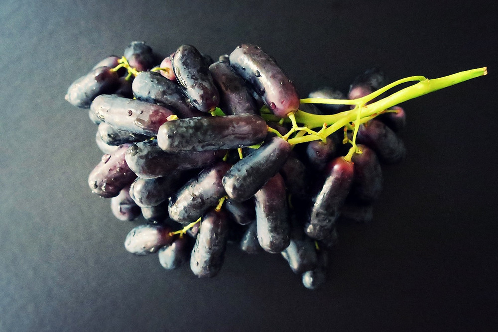 Sweet Sapphire table grapes