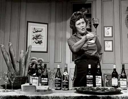 Julia Child - Julia on the set of The French Chef (WGBH)
