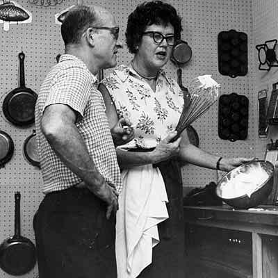 Julia Child and Paul Cushing Child