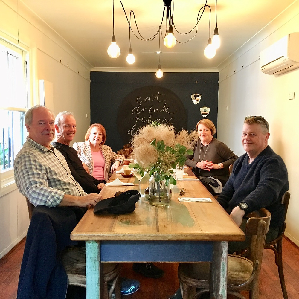 Private dining at Alby & Esthers, Mudgee