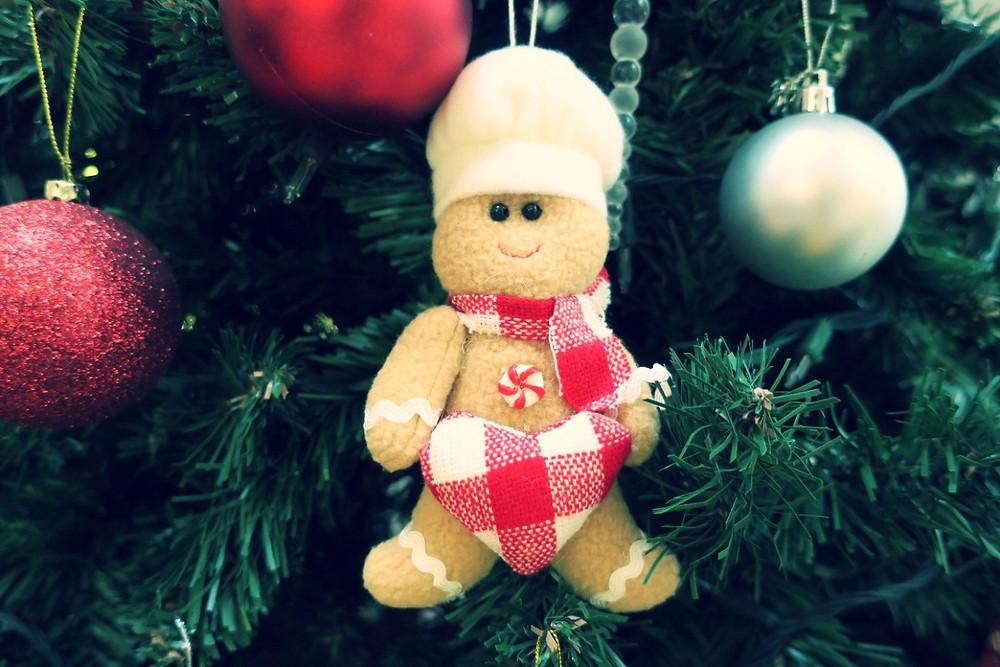 Christmas Gingerbread Man tree decoration