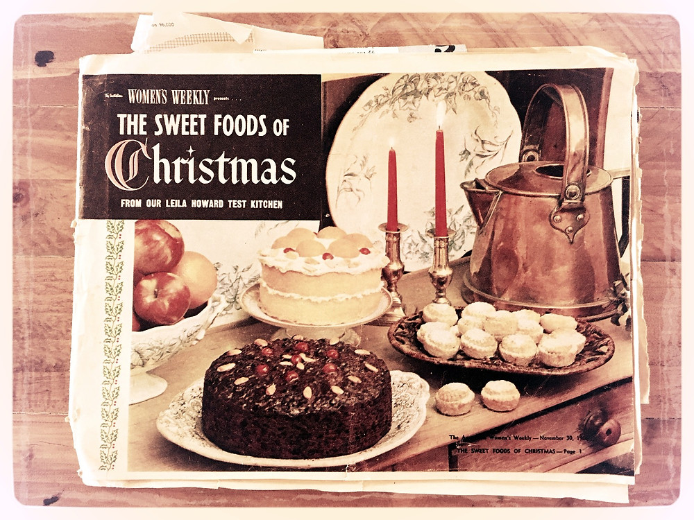 Cover Womens Weekly 'The Sweet Foods of Christmas' Nov 30, 1966