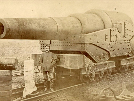 Woolwich Arsenal - 80 pound gun