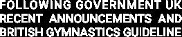 Following Government UK recent announcem