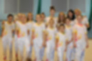 gymnasts, beautiful, girls, yellow, phoenix, orange, pink, london, gymnastics club, leotard, tracksuit