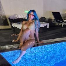 LEXA Blue hair