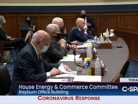White House Coronavirus Task Force Members Testified on Federal Response to Pandemic