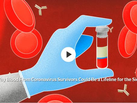 The FDA Authorizes Convalescent Plasma for Covid-19 Use