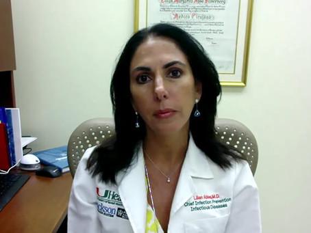 Dr. Lilian Abbo endorses convalescent COVID-19 plasma