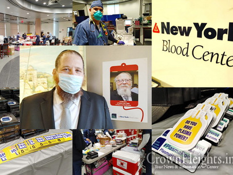 Crown Heights Turns Out For Ahavas Chessed Blood and Plasma Drive
