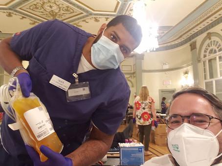 Mordy Serle donates Convalescent Plasma to save lives
