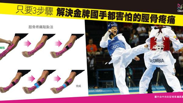 只要3步驟 解決金牌國手都害怕的脛骨疼痛