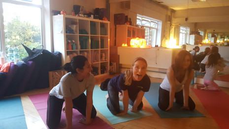 Halloween Charity Family Yoga Class