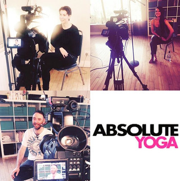 Some snaps of our Absolute Yoga Video shot from 2015 when we were there Irish reps