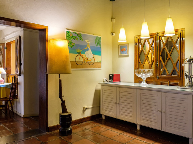 Pousada Don Diego Salão café  55
