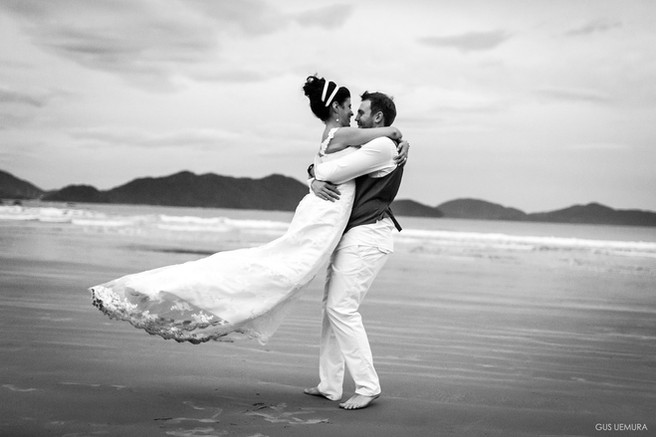 Casamento na praia em Ubatuba La Brava