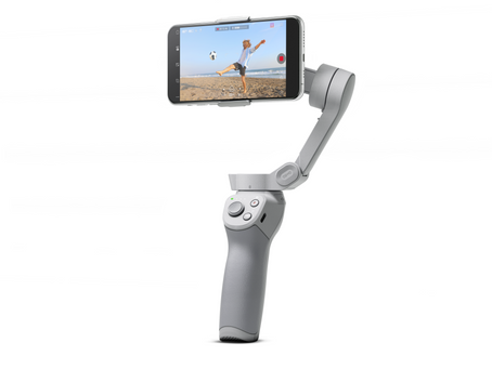 DJI reveals the new DJI Osmo Mobile 4, featuring a new magnetic mounting system
