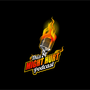 """The Evolution Of The""""This Might Hurt Podcast"""" Logos"""