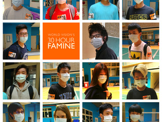 5/21 World Vision Taiwan's 30 Hour Famine Achievement