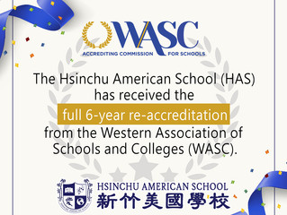 HAS WASC Re-Accreditation