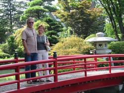 Mon épouse et moi au Japon en 2004