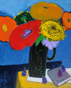 BOUQUET OF BIG FLOWERS