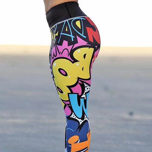 NORMOV Women Leggings Workout Leggings High Waist Ankle-Length Push Up Slim